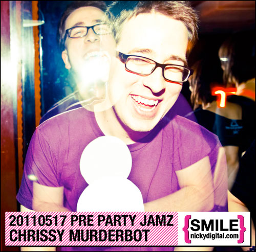 Pre Party Jamz: Chrissy Murderbot