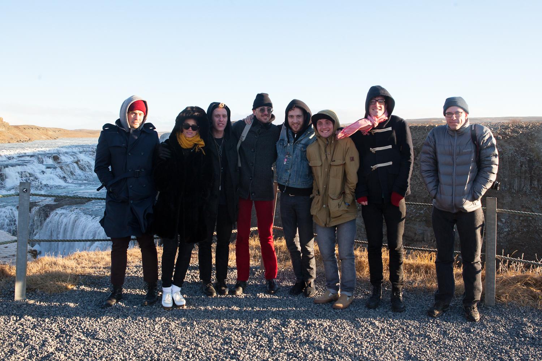 Blouse, Vacationer, and Superfan @GrahamGrochosinski at Gullfoss, Iceland