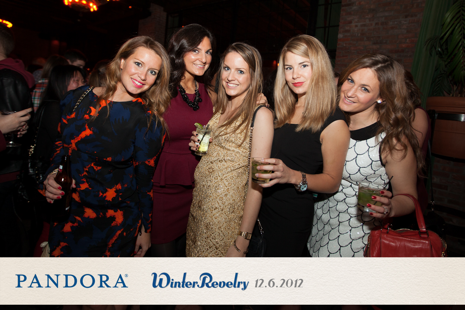 Pandora Winter Revelry at The Bowery Hotel on December 6, 2012