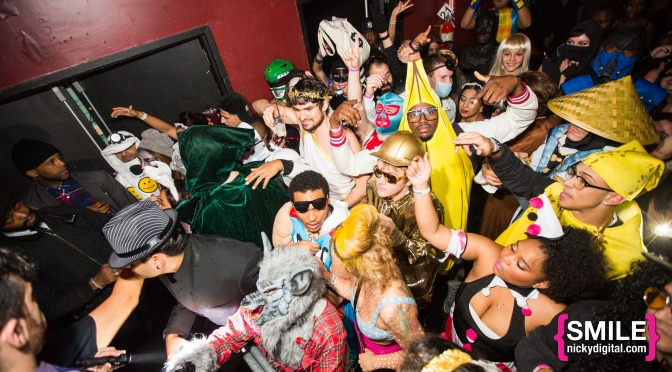Halloween House Party NYC at Webster Hall in New York City on October 30, 2014