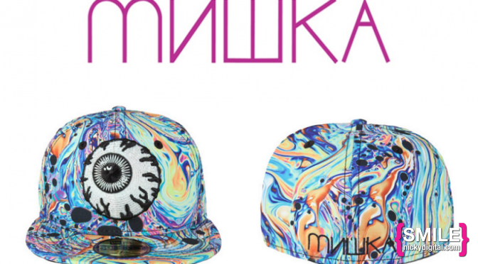 STYLE: Oil Spill Fitted Hat by Mishka