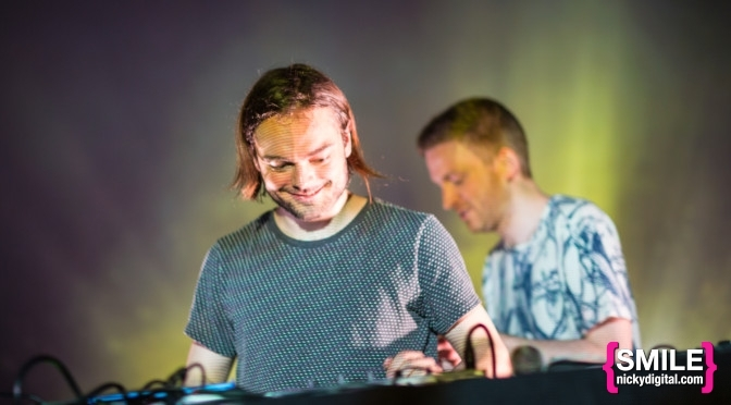 Kiasmos & Beacon LIVE at Bowery Ballroom on May 27, 2015