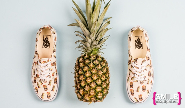 STYLE: Pineapple Sneakers by Vans