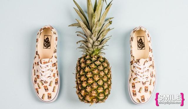 STYLE: Pineapple Sneakers by Vans