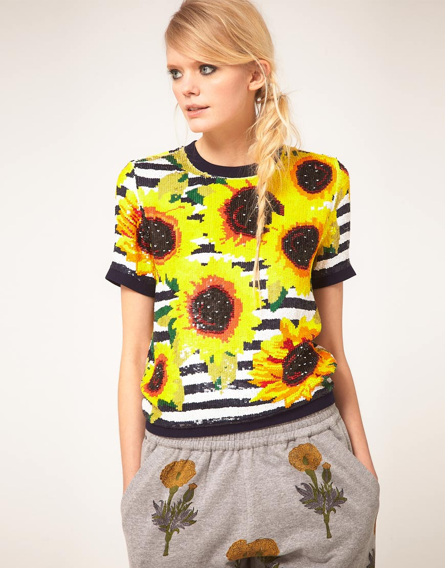 STYLE: Spring into Summer with Ashish's Flower Tops!