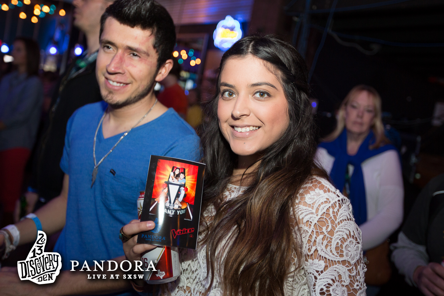 Pandora Discovery Den at Antones on March 12, 2013