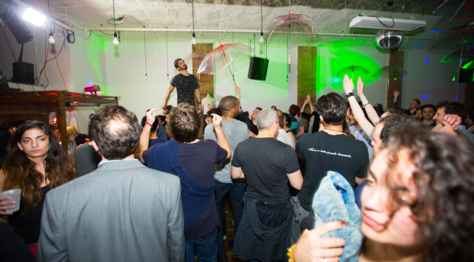 Rinsed: Superstitions Loft Party on April 18, 2014