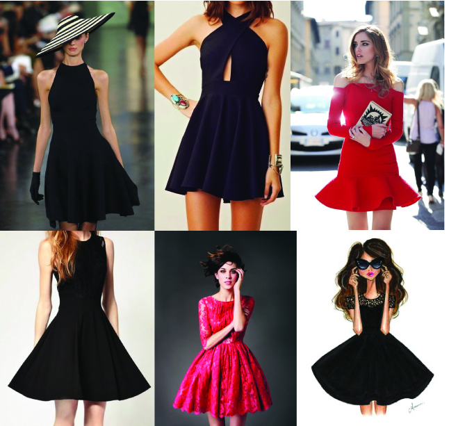 Classic Little Black Cocktail Dress