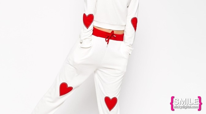 STYLE: Valentine's Day Hangover Hearts Sweat Suit by ASOS