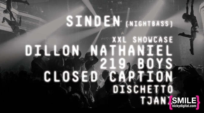 GOTHAM Presents Sinden, Dillon Nathaniel, 219 Boys, Closed Caption
